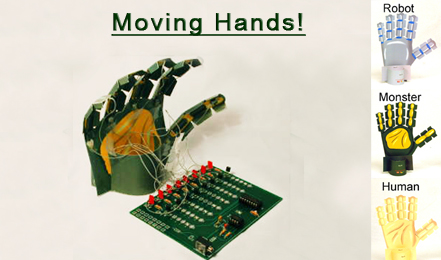 Moving Hand Kit- Robot